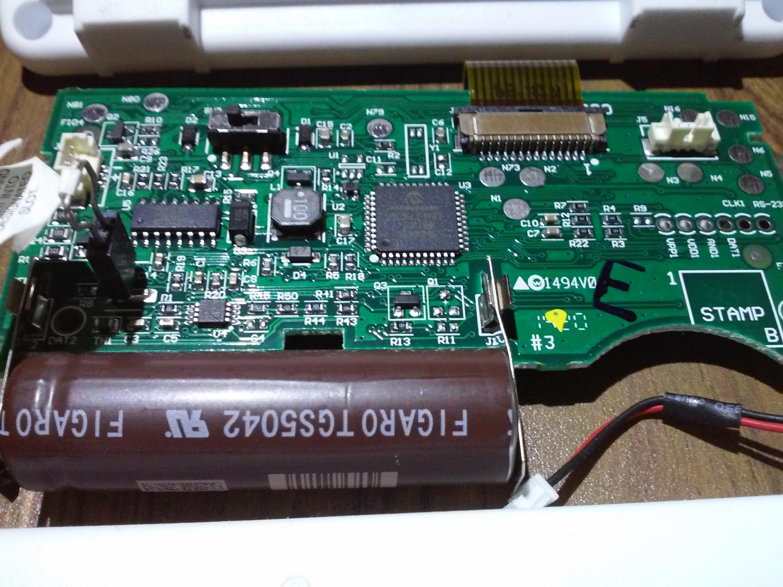co detector circuit board